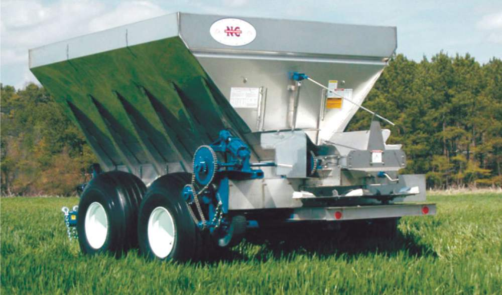 Buy Newton crouch spreadit series fertilizers & lime spreader
