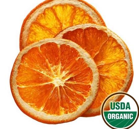 Buy Organic Dried Orange Slices