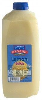 Buy Pure Organic Lemon Juice