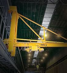 Buy SPANCO Wall Traveling Jib Cranes