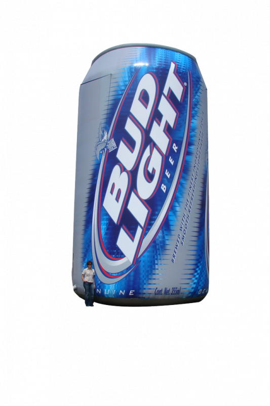 Buy Promotional Inflatable Figures, 4' Bud Light Can