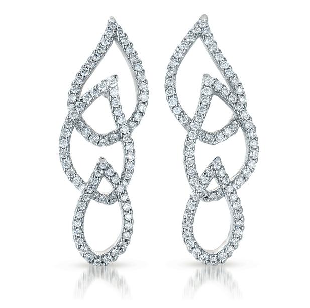 Buy E7785WG White Gold Diamond Earring