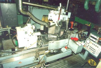 Buy Used Schaudt Type B Gr. 7 Si. Angle Approach Grinding Machine