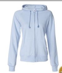 Buy Ladies' Raglan Full-Zip Hooded Sweatshirt