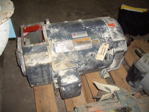 25 Hp General Electric Safetronics 500 Volt 1150/2000 Rpm Motor