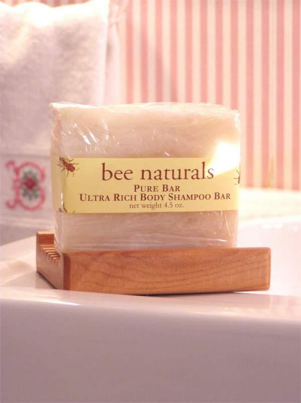 Buy Bee Naturals Ultra Rich Pure Shampoo Body Bar