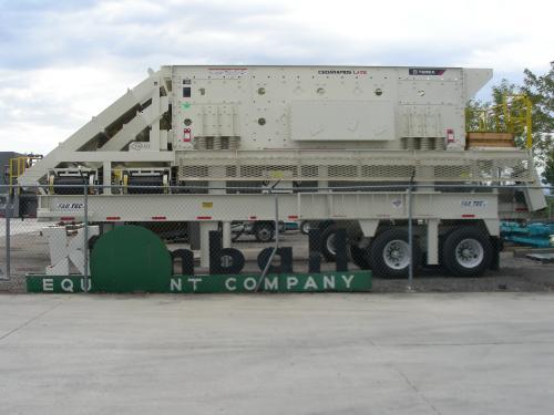 Buy 2011 Cedarapids / Fabtec 8x20 3 Deck Screening Plant