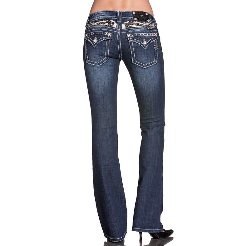 Buy Women's Wing Cut Out Boot Cut Jeans Miss Me