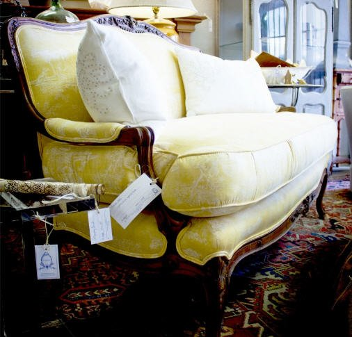 Buy Lovely settee and seating selections