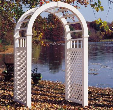 Buy Champion Contemporary Arbor - white