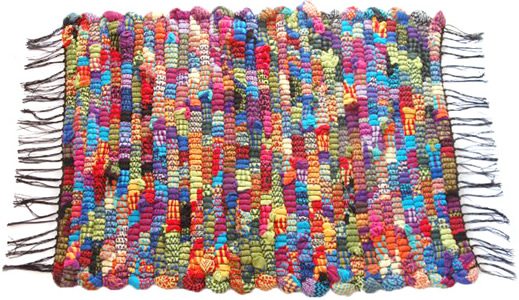 Hand Knotted Woven Rag Rugs
