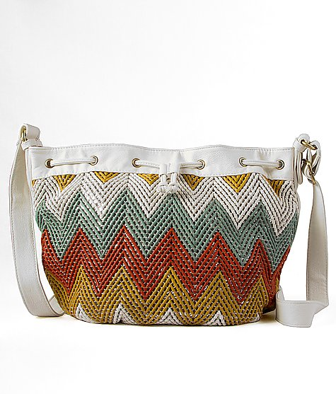 Buy Woven Cinch Crossbody Purse