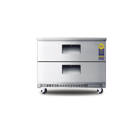 "Buy Drawered Under-Counter Refrigerator, 35 1/2"" Wide"
