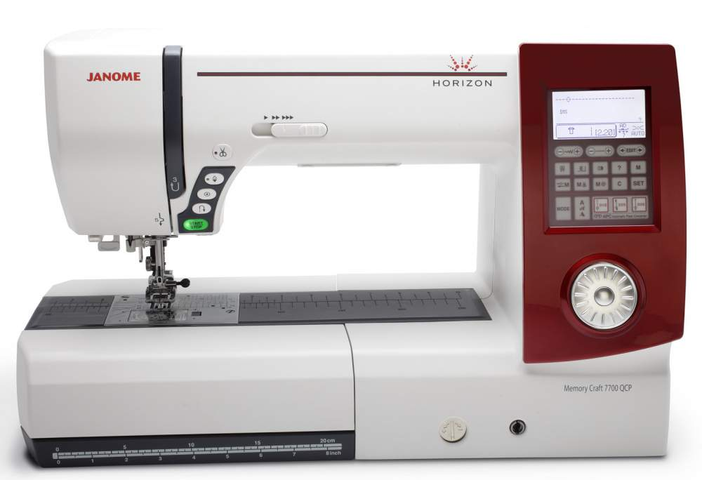 Buy Sewing and Quilting Machine Janome Horizon 7700QCP