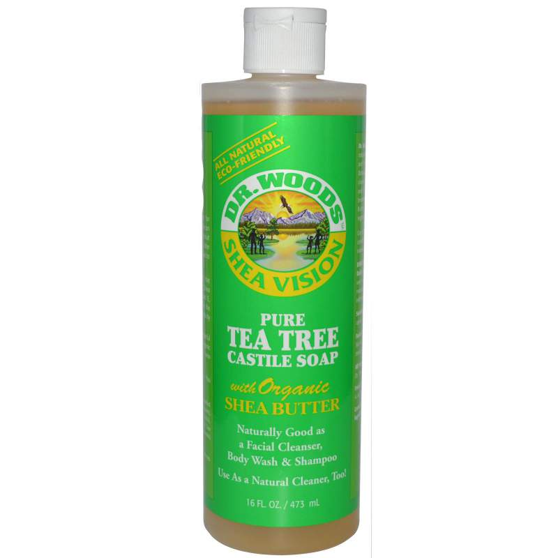 Buy Pure Tea Tree Castile Soap with Organic Shea Butter
