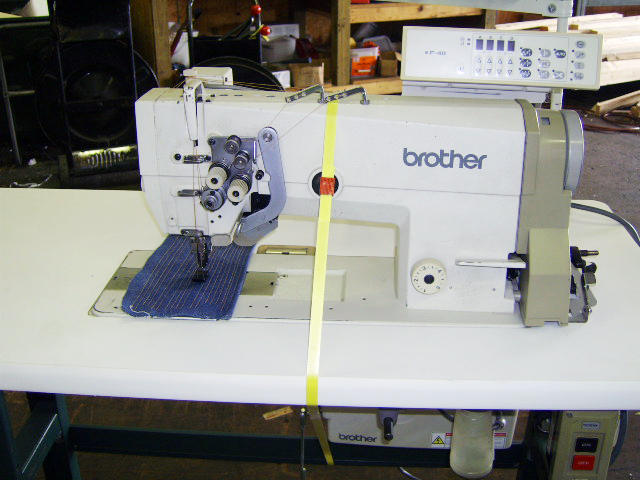 Buy Electronic Double Needle Sewing Machine Brother B845
