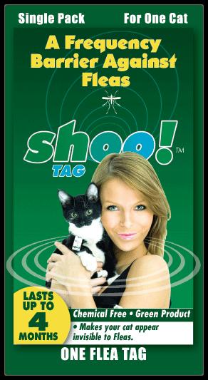 Buy Shoo!TAG™ Cat Flea Single