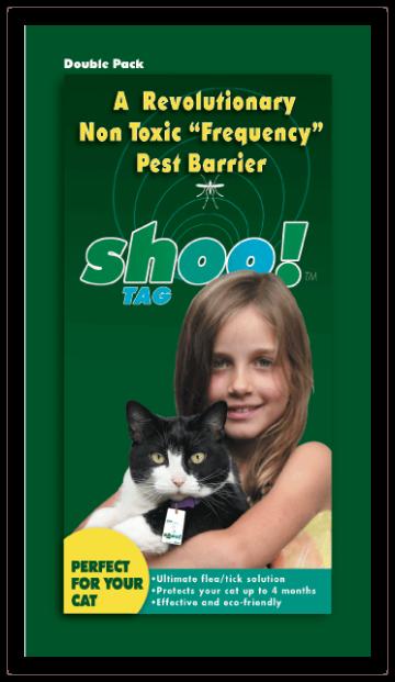 Buy Shoo!TAG Cat Flea/Tick - Double Pack