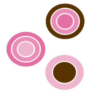 Buy Buttons Pink Dots