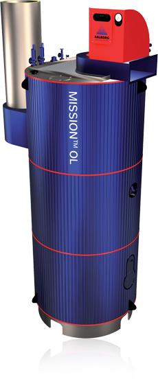 Buy Aalborg OL 12.5 - 55 t/h Steam Boiler