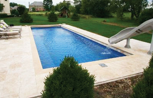 Captivating Elegance Style® Fiberglass Inground Pools