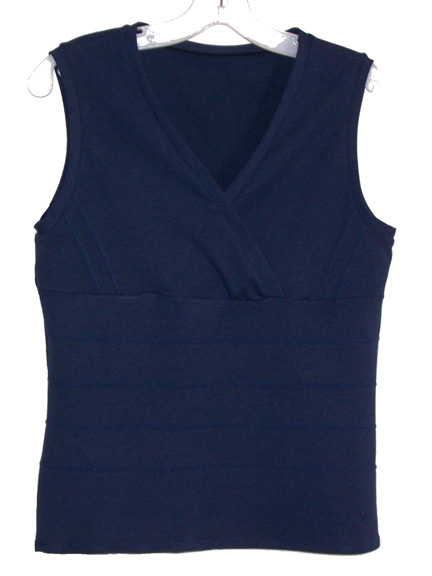 Buy Sleeveless Crossover Tops