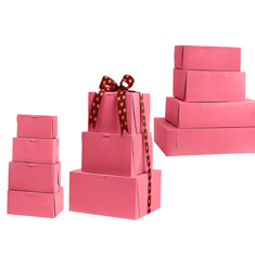 Buy Pink Non Window Bakery Boxes