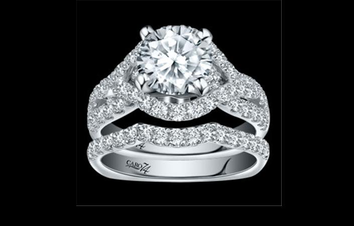 Buy CR220W Caro74 Bridal Ring