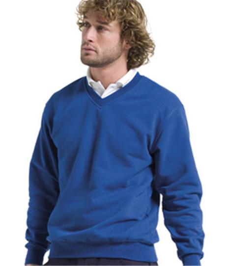 Buy Jerzees Adults V Neck Sweatshirt