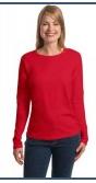 Buy Ladies ComfortSoft® Long Sleeve T-Shirt