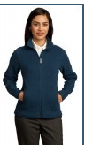 Buy Ladies Sweater Fleece Full-Zip Jacket