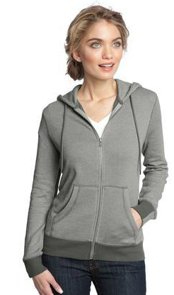 Buy Ladies Mini Stripe Full-Zip Hoodie