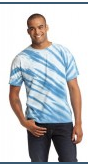 Essential Tiger Stripe Tie-Dye Tee