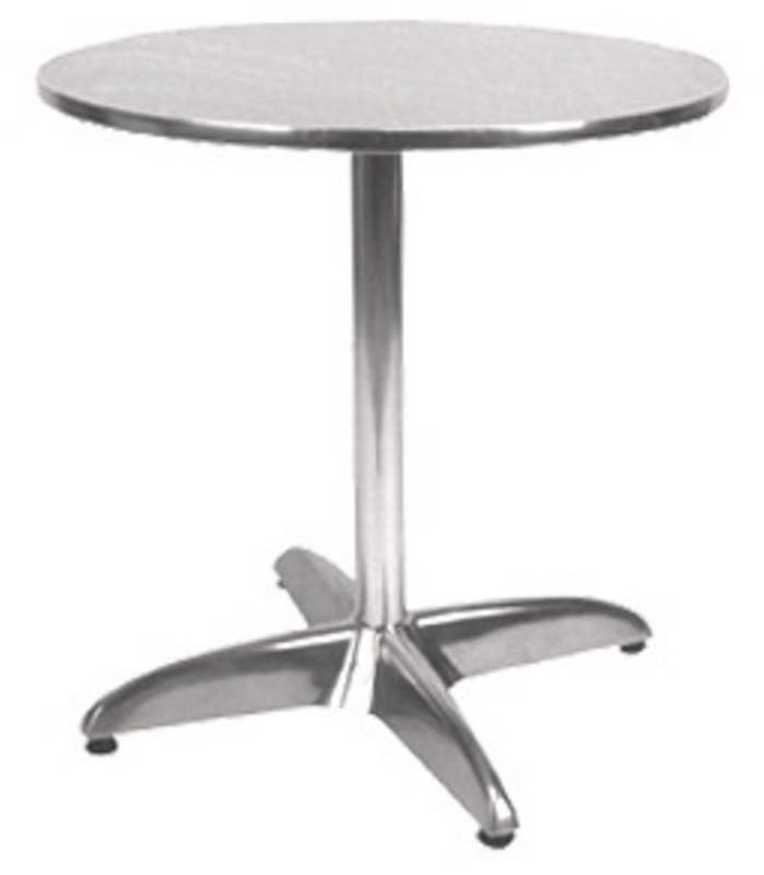 Round Aluminum Patio Table