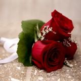 Buy Three Rose Posey Bouquet
