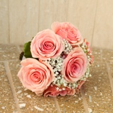 Buy Seven Rose Hand Tied Bouquet