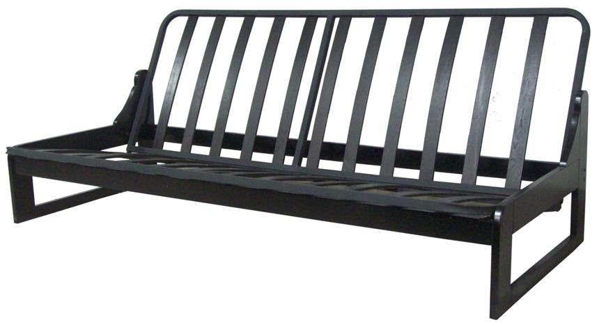 Medium image of armless futon frame
