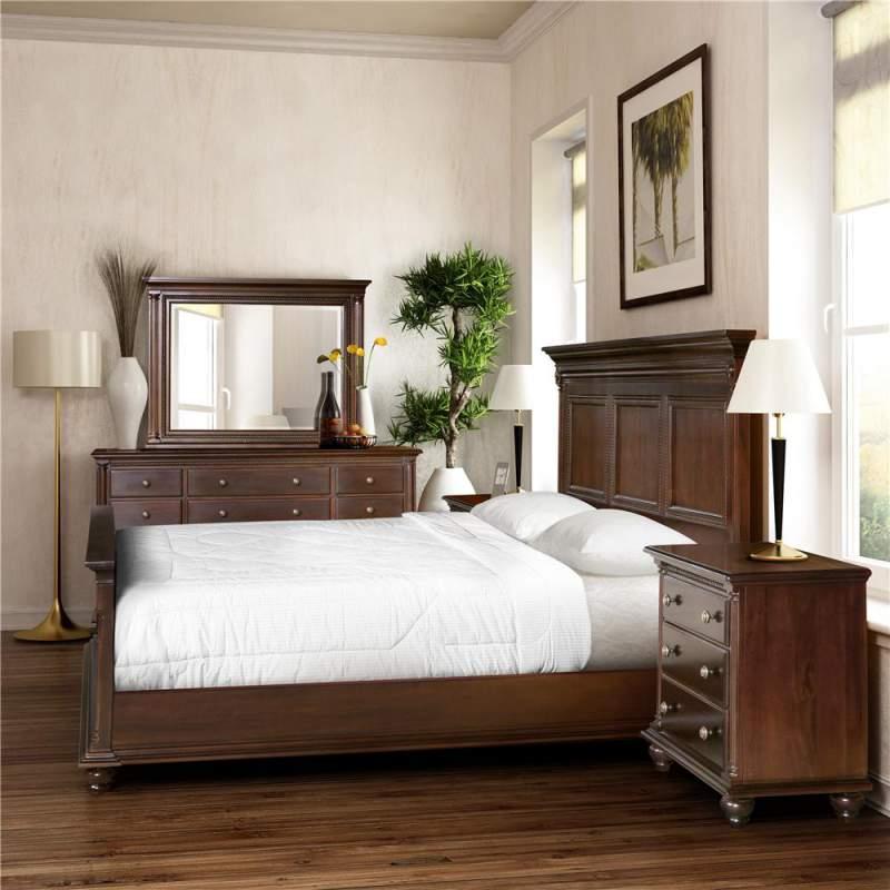 Savoy Court Queen Panel Bed