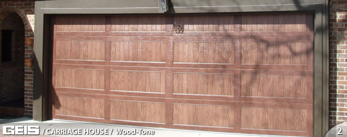 Geis Carriage House Wood Tone Garage Doors Buy In Brookfield