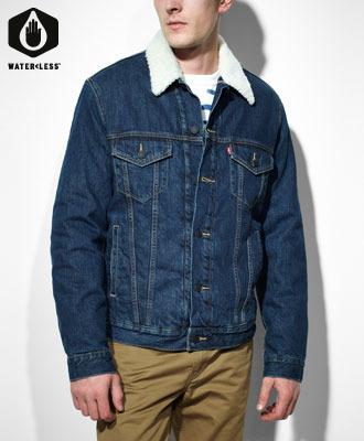 Buy Sherpa Standard Fit Trucker Jacket