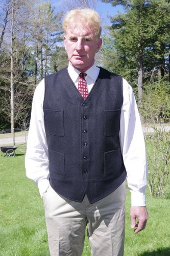 Buy Button Front Vest