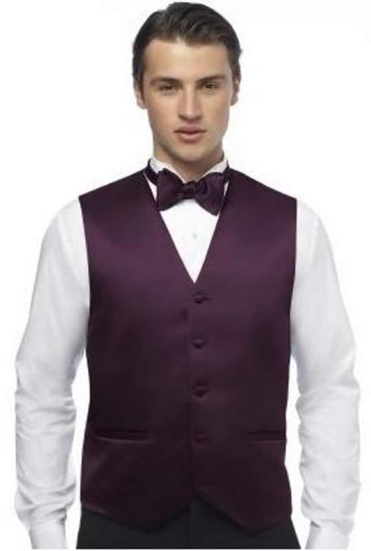 Buy Men's duchess satin vest