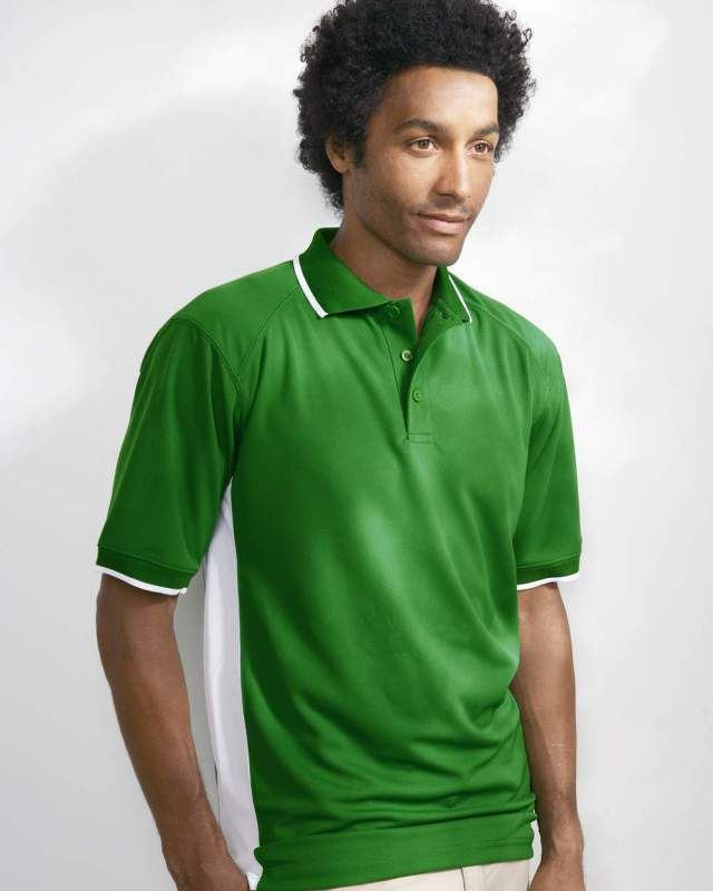Buy B-Dry Performance Color Blocked Polo