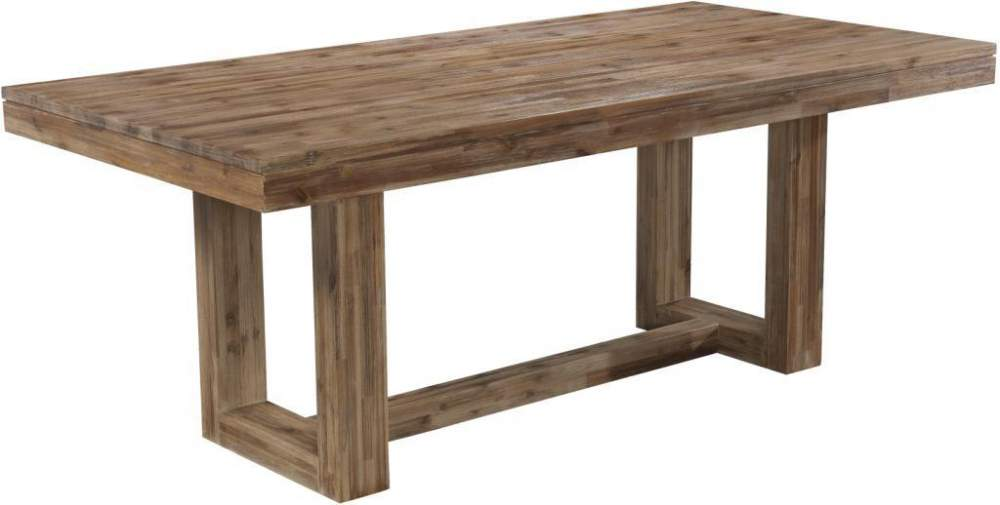 Waverly modern rectangular dining table in gallatin online store cresent fine furniture company - Where to buy small kitchen tables ...