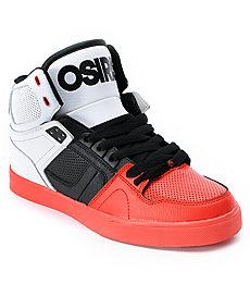 Buy Osiris NYC 83 VLC Red, Black & White Shoe
