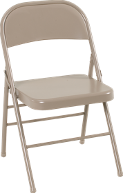 Buy Cosco All Steel Folding Chair Antique Linen