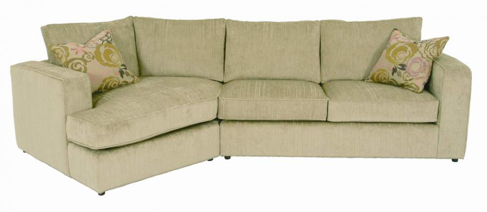 Wonderful Milford Casual Angled Sectional Sofa