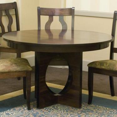 Buy Single Metro Customizable Round Pedestal Table