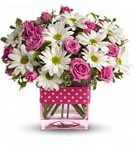 Buy Teleflora's Polka Dots and Posies Bouquet