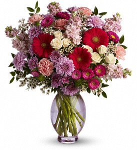 Buy Teleflora's Perfectly Pleasing Pinks Bouquet